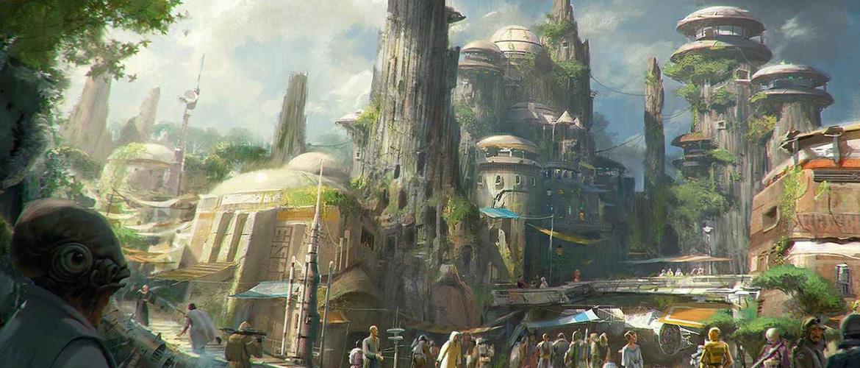 Star Wars Land : ouverture prévue en 2019