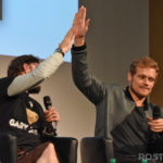 Panel Steven Cree, Sam Heughan - The Land Con - Wevents