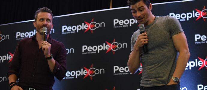 Panel Rob Benedict & Matt Cohen - Supernatural - DarkLight Con 2