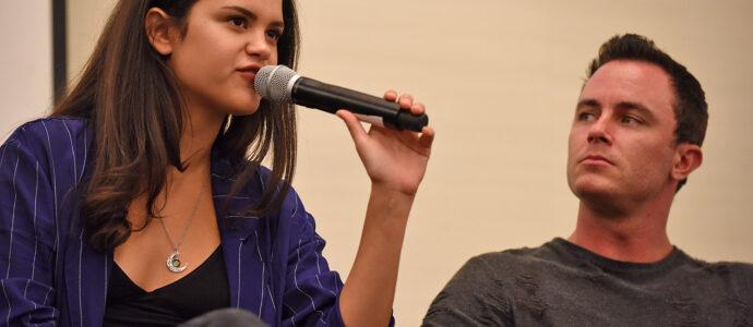 Victoria Moroles & Ryan Kelley - Wolfies In Paris - Teen Wolf