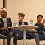 Khylin Rhambo, Froy Gutierrez & Tyler Posey - Wolfies In Paris - Teen Wolf