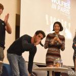 Froy Gutierrez, Tyler Posey, Arden Cho & Melissa Ponzio - Wolfies In Paris - Teen Wolf