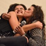 Victoria Moroles & Melissa Ponzio - Wolfies in Paris - Teen Wolf