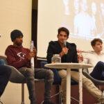 Ryan Kelley, Khylin Rhambo, Tyler Posey & Froy Gutierrez - Wolfies in Paris - Teen Wolf
