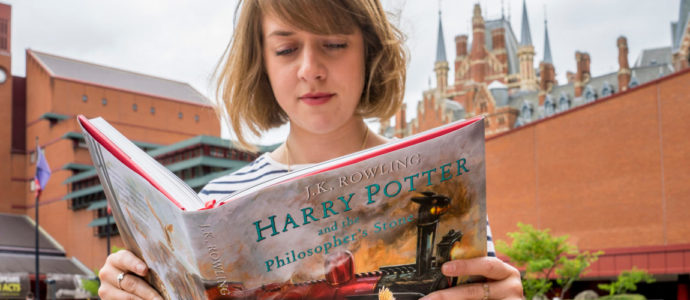 Harry Potter s'expose à la British Library