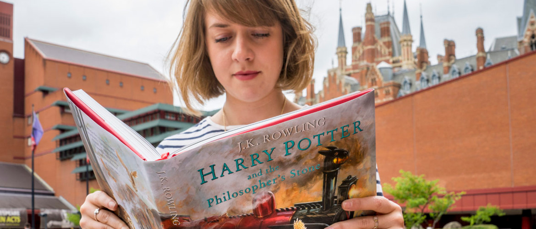 Harry Potter s'expose à la British Library