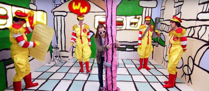 Macaulay Culkin en Kurt Cobain dans le clip de Father John Misty