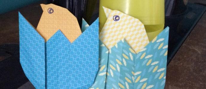 Origami : poussin de pâques 🐣