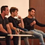 Ryan Kelley, Froy Gutierrez & Tyler Posey - Wolfies In Paris - Teen Wolf