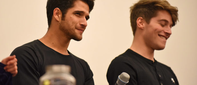Tyler Posey & Froy Gutierrez - Wolfies In Paris - Teen Wolf