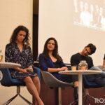 Arden Cho, Melissa Ponzio, Victoria Moroles, Tyler Posey & Froy Gutierrez - Wolfies In Paris - Teen Wolf