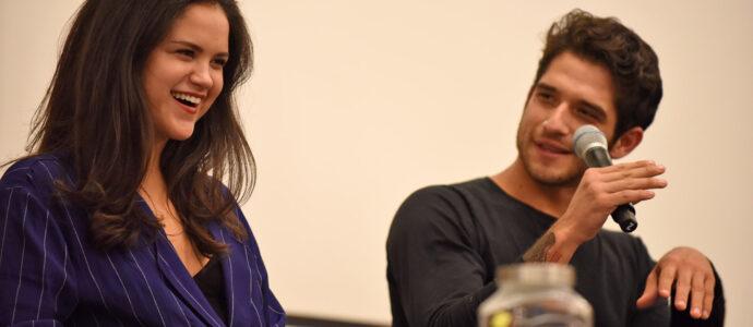 Victoria Moroles & Tyler Posey - Wolfies In Paris - Teen Wolf
