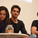 Victoria Moroles, Tyler Posey & Froy Gutierrez - Wolfies In Paris - Teen Wolf