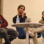Khylin Rhambo, Tyler Posey & Arden Cho - Wolfies in Paris - Teen Wolf