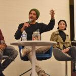 Khylin Rhambo, Tyler Posey, Arden Cho & Ryan Kelley - Wolfies in Paris - Teen Wolf