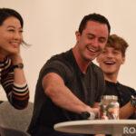 Arden Cho, Ryan Kelley & Froy Gutierrez - Teen Wolf - Wolfies In Paris