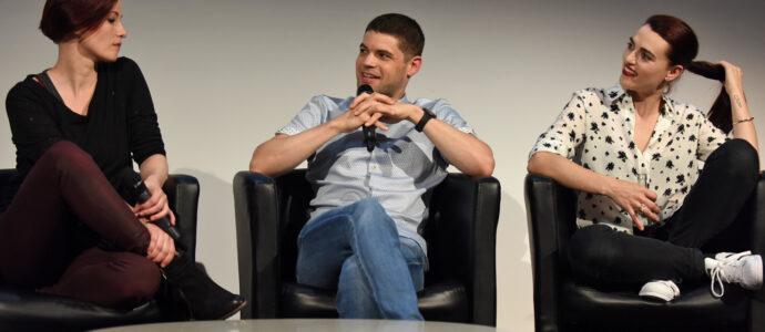 Q&A Chyler Leigh, Jeremy Jordan & Katie McGrath -Supergirl - Heroes Assemble