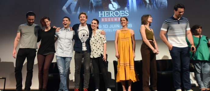 Heroes Assemble - Supergirl, Arrow, Iron Fist, Legends of Tomorrow, Marvel's Agents of S.H.I.E.L.D.