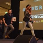 Vanessa Morgan, Casey Cott & Lochlyn Munro - Rivercon - Convention Riverdale