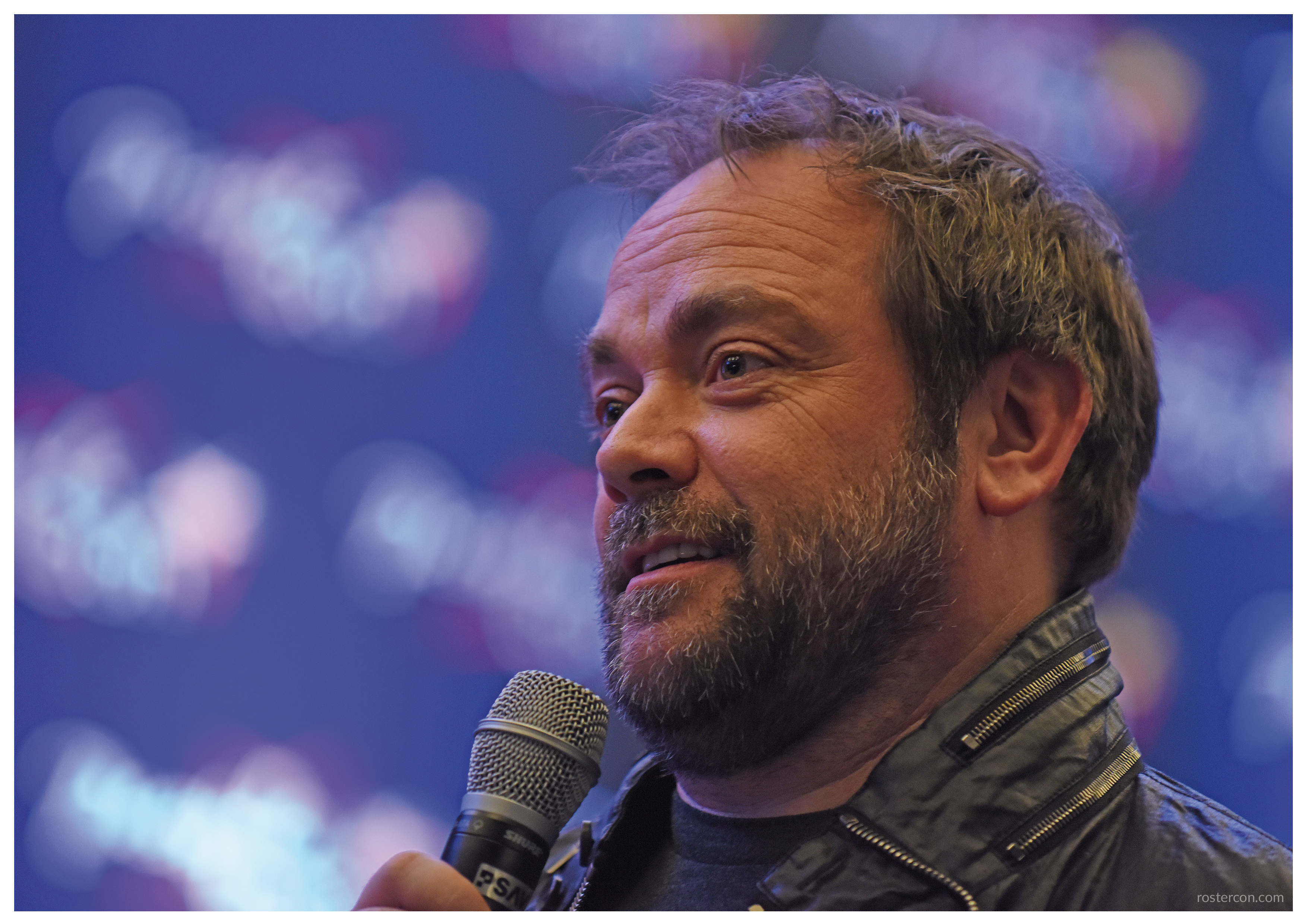 Mark Sheppard autograph support #3 – Supernatural | Roster Con