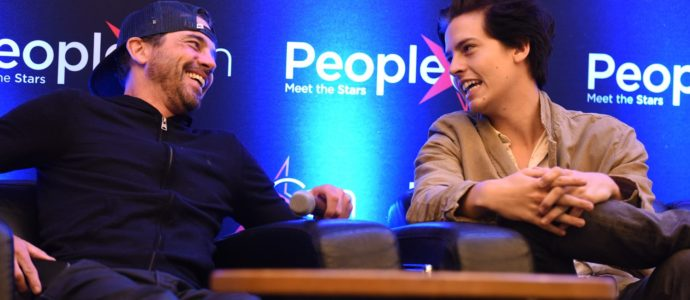 Skeet Ulrich & Cole Sprouse - RIVERCON - Convention Riverdale
