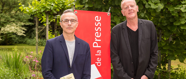 Philippe Besson, grand lauréat du Prix Maison de la Presse 2017