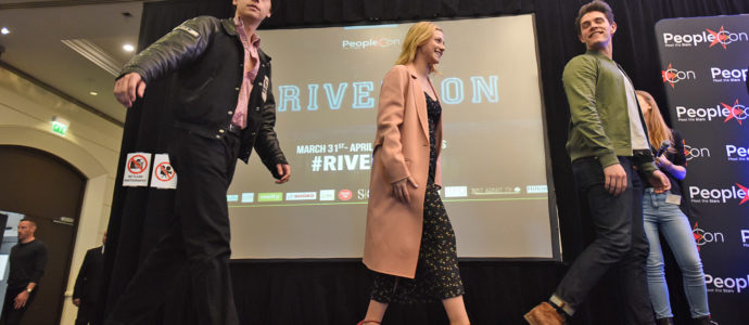 Cole Sprouse, Lili Reinhart & Casey Cott - Rivercon - Convention Riverdale