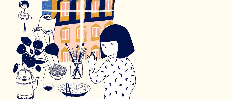 Kei Lam ou le récit d'une Banana Girl