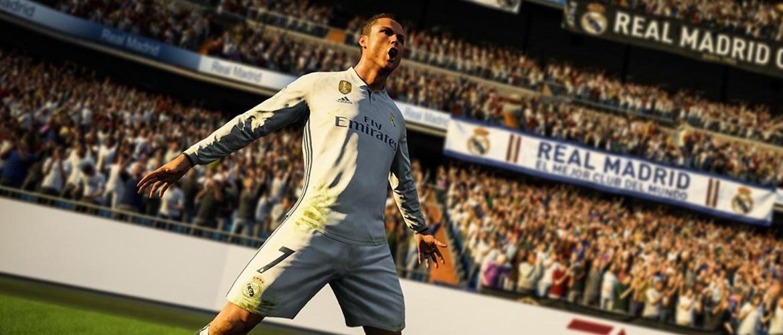 FIFA 18 : Cristiano Ronaldo en couverture du jeu de simulation