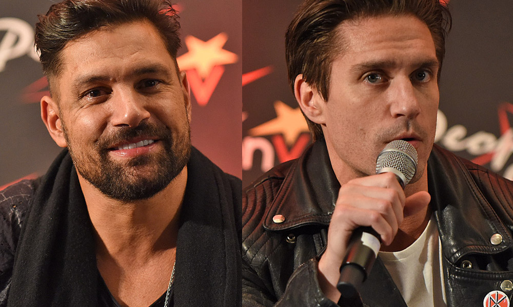 Manu Bennett and Michael Rowe : interview with two regulars in conventions