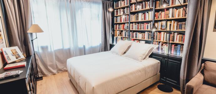 Et si on dormait dans une librairie ?
