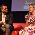 Arjun Gupta & Olivia Taylor Dudley – Paris Manga & Sci-Fi Show