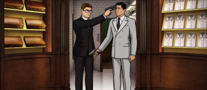 Comic-Con 2017 : quand Sterling Archer rencontre Eggsy (Kingsman)