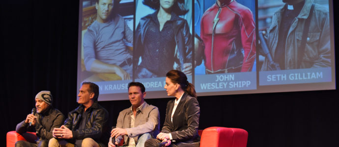 John Wesley Shipp, Seth Gilliam, Andrea Parker & Brian Krause - Paris Manga & Sci-Fi Show