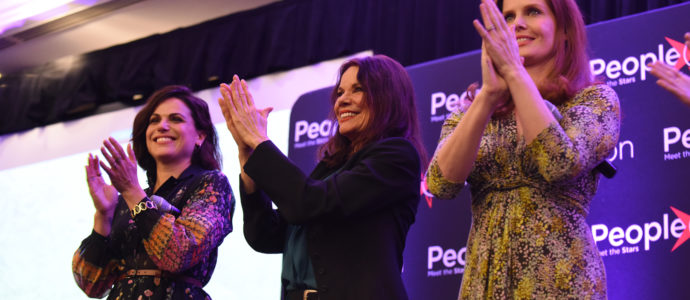 Lana Parrilla, Barbara Hershey & Rebecca Mader – Once Upon A Time – The Happy Ending Convention 2