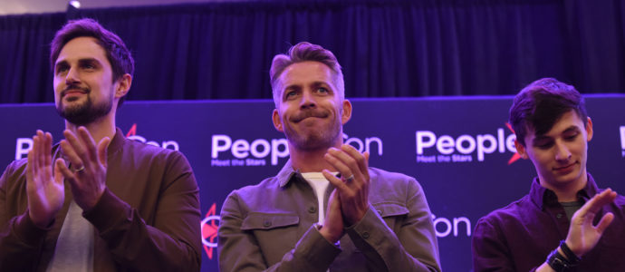 Andrew J. West, Sean Maguire & Jared S. Gilmore – Once Upon A Time – The Happy Ending Convention 2