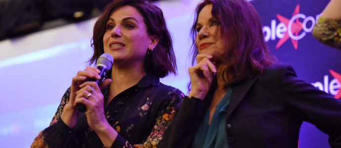 Lana Parrilla & Barbara Hershey - Once Upon A Time - The Happy Ending Convention 2