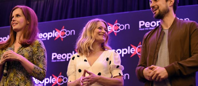 Rebecca Mader, Emilie de Ravin & Andrew J. West – Once Upon A Time – The Happy Ending Convention 2