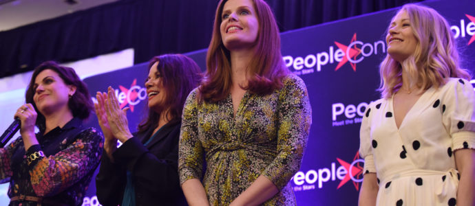 Lana Parrilla, Barbara Hershey, Rebecca Mader & Emilie de Ravin - Once Upon A Time - The Happy Ending Convention 2