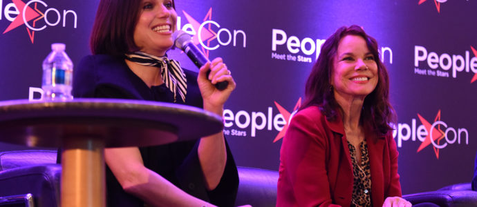 Lana Parrilla & Barbara Hershey - The Happy Ending Convention 2 - Once Upon A Time