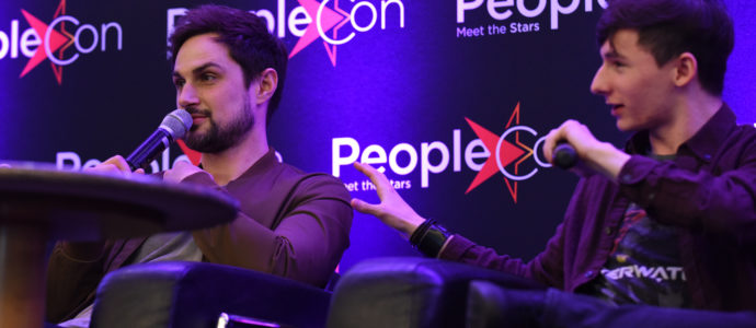 Andrew J. West & Jared S. Gilmore - Once Upon A Time - The Happy Ending Convention 2