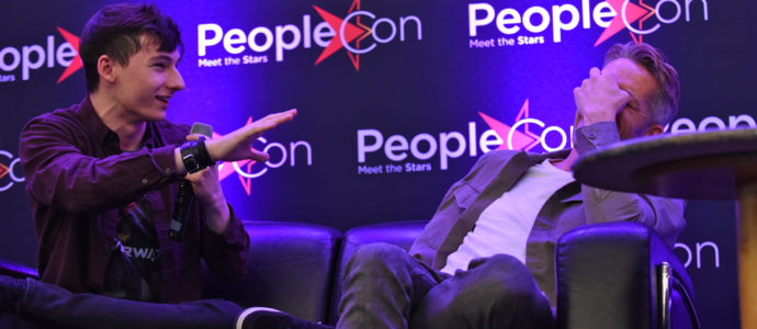 Jared S. Gilmore & Sean Maguire - Once Upon A Time - The Happy Ending Convention 2