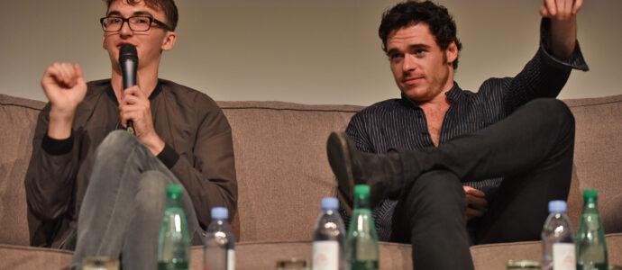 Panel Isaac Hempstead-Wright & Richard Madden - Game of Thrones - All Men Must Die