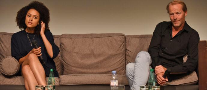 Q&A Nathalie Emmanuel & Iain Glen - All Men Must Die - Game of Thrones