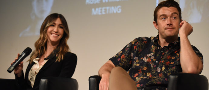 Panel Kate Voegele & Robert Buckley - Voices of Power – One Tree Hill
