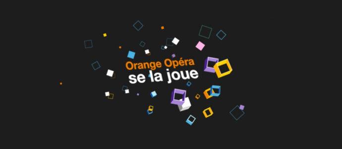 Orange Opéra vous invite pour 13 journées gaming!