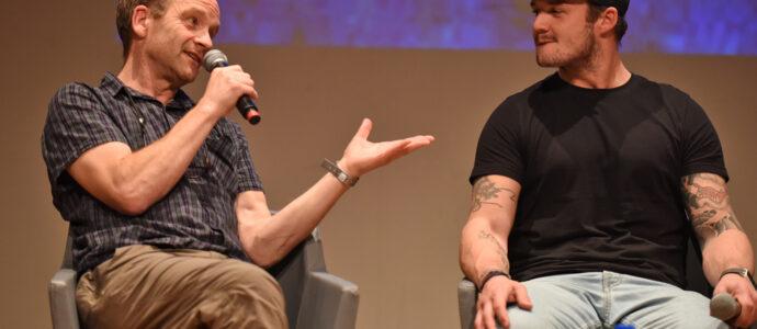 Panel Adrian Rawlins & Josh Herdman - Harry Potter - Comic Con Paris 2018