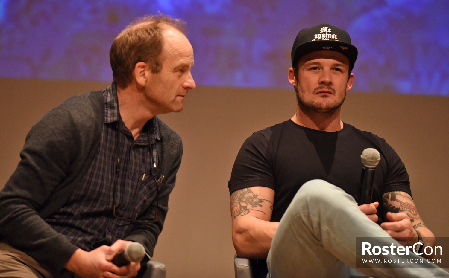 Panel Adrian Rawlins Josh Herdman Harry Potter Comic Con Paris 2018 Roster Con His father is an actor and got him an agent. roster con