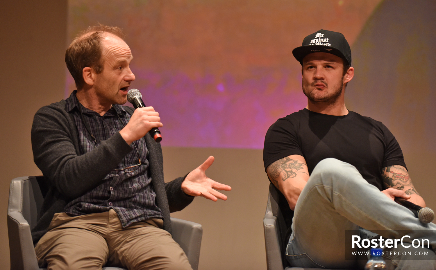 Panel Adrian Rawlins Josh Herdman Harry Potter Comic Con Paris 2018 Roster Con I've been training traditional japanese jujitsu for nearly. panel adrian rawlins josh herdman