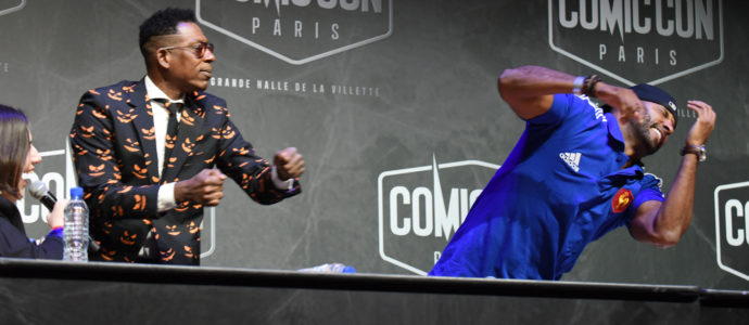 Q&A Ricky Whittle & Orlando Jones - American Gods - Comic Con Paris 2018
